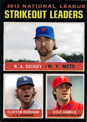 1971 R. A. Dickey (2012 N.L. Strikeout Leaders)