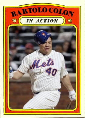 1972 Bartolo Colon (in action)